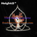 Crystal Moose Christmas Crowns For Christmas Festival