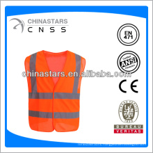 reflective safety vest with 3M reflective tape