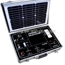 AC/DC 500W portable solar generator, briefcase solar generator