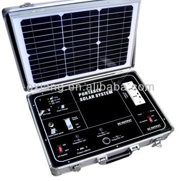 Tragbarer Solargenerator AC / DC 500W, Aktenkoffer Solargenerator