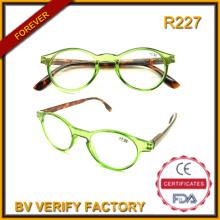 R227 2016 Hotsale New Trendy Runde Rahmen Lesebrille (BV geprüften Fabrik)