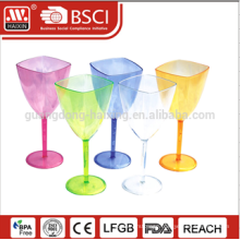 Eco-friendly customized AS matterial reusable home Plastic cups wholesale