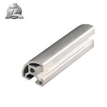 Profilé quart-de-rond en aluminium extrudé à prix raisonnable