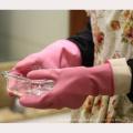 NMSAFETY CE certifié gant de sécurité chimique non pris en charge nitrile trempé