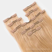 100% Human Remy Virgin Hair Multi PCS/ Set Straight 20inch Clip-in Hair Extension