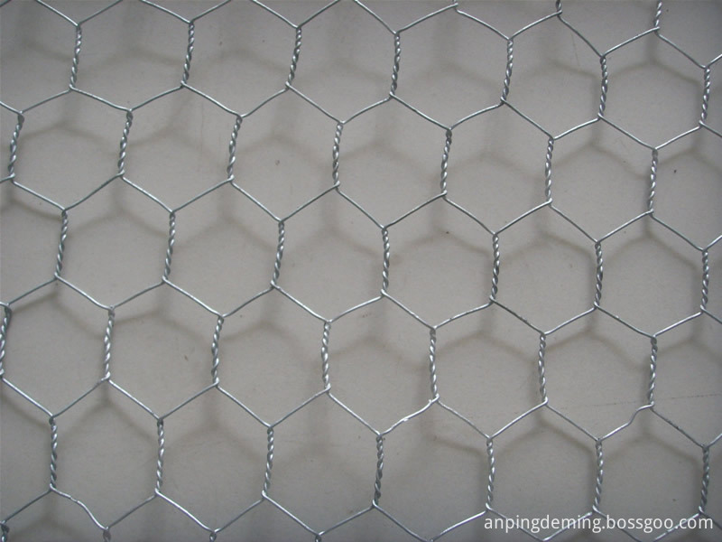 electric galvanized hexagonal wire mesh