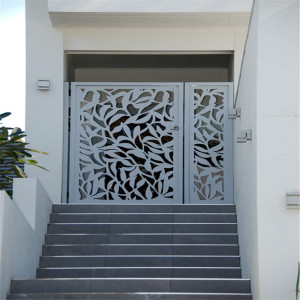 Laser Cut Metal Gates dan Screens