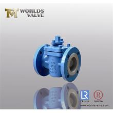 PFA Coated Ductile Iron Plug Valves