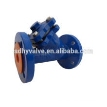 Ductile iron/cast iron y-strainer with PN10, PN16