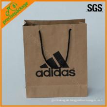 Kraftpapier Tasche mit Custom Design für Schuh (PRP-434)