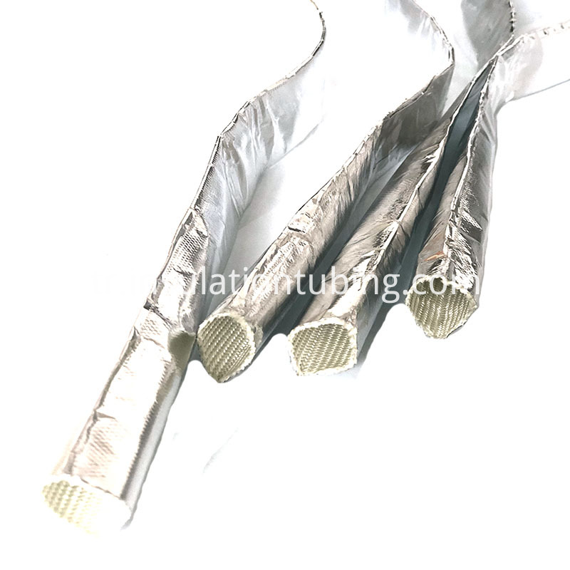 Aluminum Foil Glass Fiber Insulation Sleeving