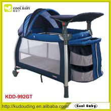 Ce approved european and australia type popular baby playpen travel cot