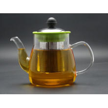 Gt008, Borosilicate Glass Tea Pot 800ml, Glass Teapot 800ml