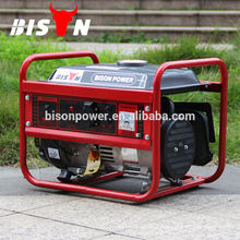 Gerador de gasolina portátil 1kva doméstica, gerador portátil de 1kw