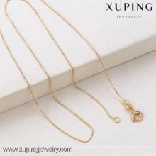 42316 Xuping Jewelry Fashion Hot vente 18K chaînes plaquées or pour pendentif