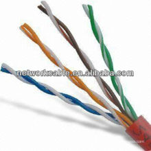 4-парный скрученный двойной витой кабель Cat5e UTP с полосой пропускания 100 МГц