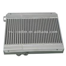 Permutador de calor de compressor de parafuso