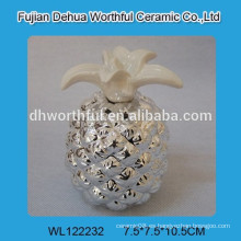 Preciosa cerámica electroactiva la sal y la pimienta de piña