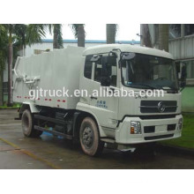 4X2 drive Dongfeng Sealed Garbage Truck/Dongfeng docking dump truck/Dongfeng garbage transport truck