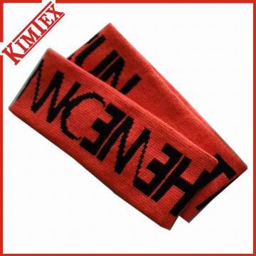 Hochwertiges Jacquard-Stirnband-Schweißband für Förderung