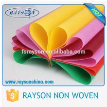Гуандун Фошань красочные PP спанбонд для одежды флизелин