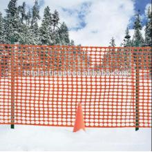 Valla de seguridad de plástico naranja de Hebei Tuosite
