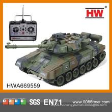 2014 новорожденных 4-канальный RC модели игрушка танк с зарядным устройством