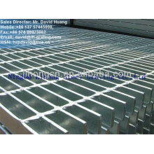 smooth floor bar grating, GI steel floor grating