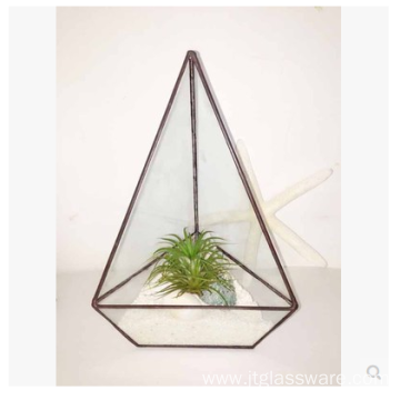 Fast Delivery for Geometric Terrarium Square Glass Plant Terrarium  Style Planter Box export to French Southern Territories Suppliers