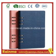 Agenda de cuero Cuaderno para regalo de negocios