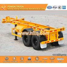 Container transport semi-trailer 2axle