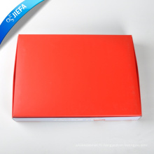 Boîte de papier d'impression de logo fait sur commande de conception de mode