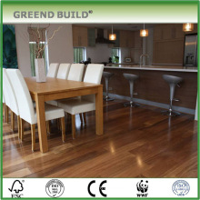Natual Jatoba Class B1 Fireproof Wooden Engineered Floor For Hotel