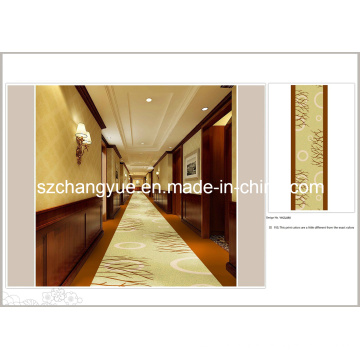 Machine Made Printed Polyester Modern Wall to Wall Hotel Carpet