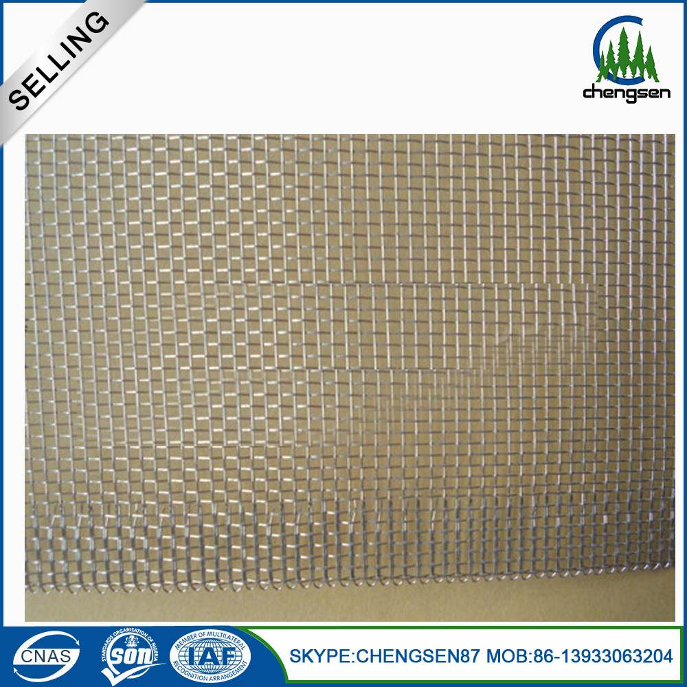 China colored stainless steel window screen netting for Window mesh screen