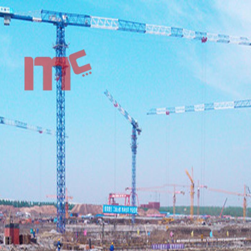 75m jib topless crane