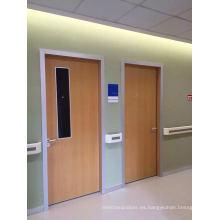 China Puerta interior del hospital