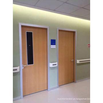 Porta interior do hospital de China