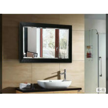 Wall hanging washroom framed rectangle mirror