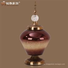 Skulptur Produkt-Typ und Europäische Kunst Handwerk, Feng Shui Stil Runde Glas Statue Handwerk
