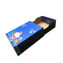 Caja de embalaje de regalo de juguete de Navidad para niño