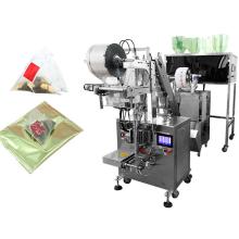Machine à emballer de sachet de thé de pyramide intérieure/extérieure