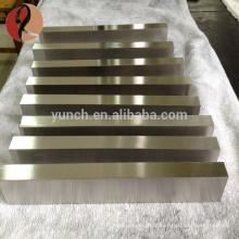 Preço de bloco de titânio puro puro por kg