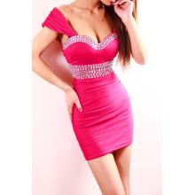 Estilo caliente estilo europeo y americano es un vestido de novia para la boda de un vestido sexy discoteca7919