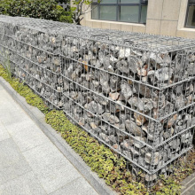 4.0mm Hot-Dipped Galvanized Welded Gabion Box within Stone