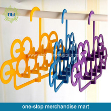 Plastic Multifunctional Clothes Hanger