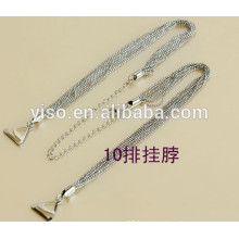 neck metal bra straps