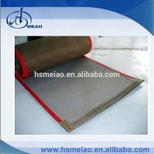 ptfe teflon fiberglass conveyor belt with FDA certification