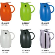 304 Edelstahl emaillierter Kunststoff Vakuum isoliert Kaffee Kanne