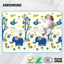 2016 new design with 1.5cm thickness PU baby play mat